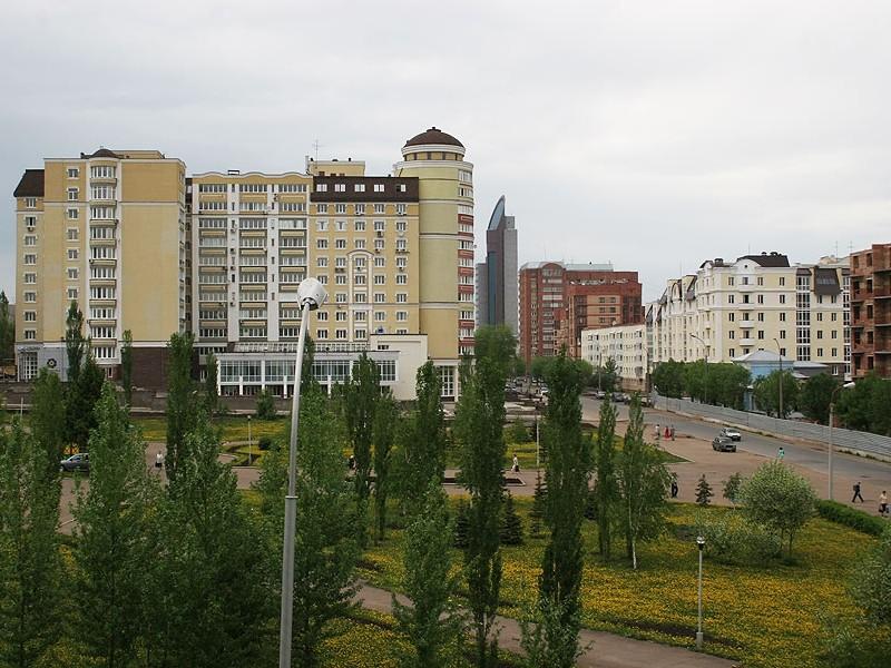 Жилые дома по ул. Мустая Карима, г.Уфа