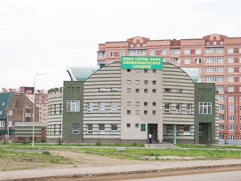 Баня в микрорайоне «Сипайлово», г.Уфа (2004)