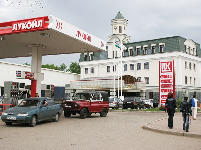 Административное здание компани «Лукойл», г.Уфа (1999)