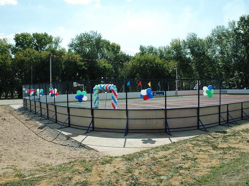 Спортивные площадки в городах Уфа, Стерлитамак, Белорецк, п.Чишмы