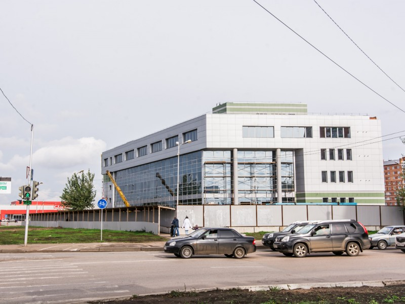 Площадка межрейсового отстоя общественного транспорта и объектов обслуживания г. Уфа, 2016 г